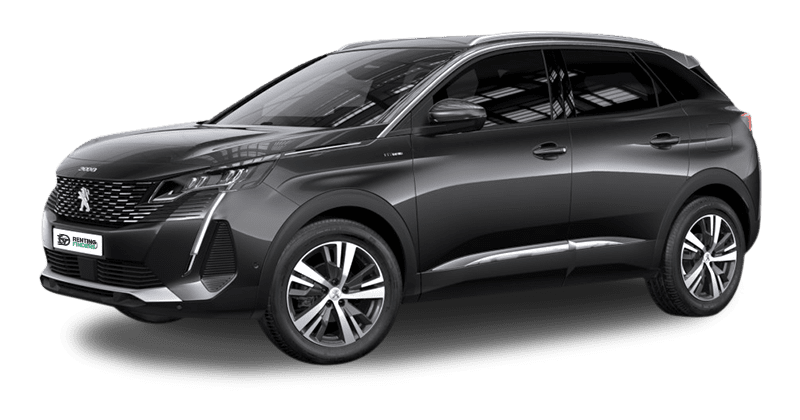Peugeot 3008 allure pack gris platino