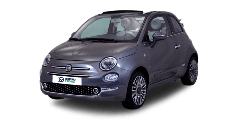 renting Fiat 500 Cabrio 1.2 Lounge MTA