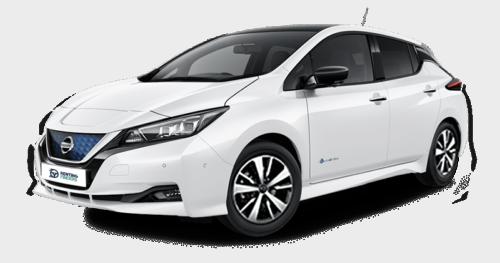 renting Nissan Leaf e+ Acenta