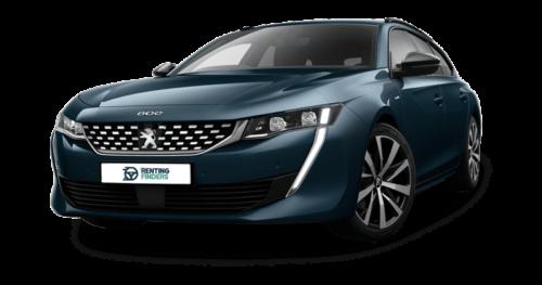 renting Peugeot 508SW 1.6 Hybrid Allure e-EAT8