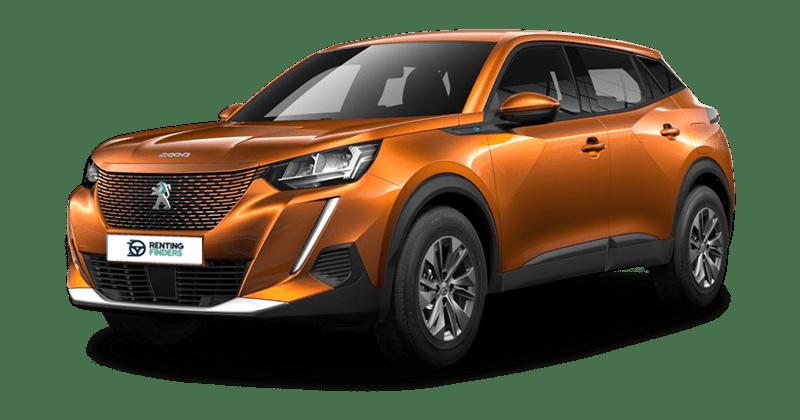 renting Peugeot e208Active