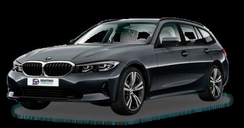 BMW serie 3 cinzento mineral